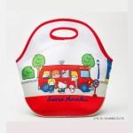 サンリオキャラクターズ70's 保温素材トートバッグ付き 懐かしイラストBOOK【付録】両A面 保温素材 トートバッグ