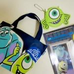 【開封レビュー】Disney・PIXAR MONSTERS,INC. SPECIAL FAN BOOK付録 『モンスターズ・インク』サリー&マイク ランチトート、マイク ダイカットミニポーチ