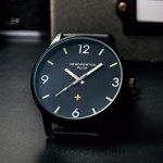 smart スマート 2017年 4月号 【付録】 HEAD PORTER PLUS ブラックメタル仕様 BIGサイズ腕時計