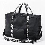 HONEY MI HONEY 10th ANNIVERSARY BOOK 【付録】 ハニー ミー ハニー 2WAY ボストンバッグ