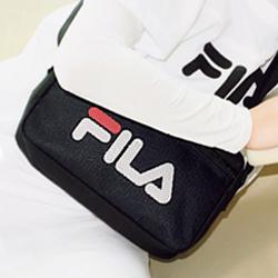 FILA 【付録】 FILA ロゴ ショルダーバッグ