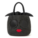 a-jolie PEARL BASKET BAG BOOK BLACK ver. 【付録】 パールサングラスかごバッグ ブラック
