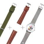 SPRiNG スプリング 2019年 11月号 増刊 【付録】 ミッキーマウス 腕時計、替えベルト2本(ナイロンベルト、レザー調)