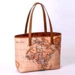 LICENTIA Bag Book 【付録】 ヌメ革風 地図柄 トートバッグ