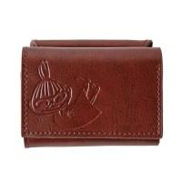 MOOMIN 本革三つ折りミニ財布 BOOK 【付録】 本革三つ折りミニ財布