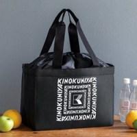 ▶ファミリーマート限定 KINOKUNIYA 保冷ができるショッピングバッグBOOK BLACK ver. 【付録】 紀ノ国屋 保冷ができるショッピングバッグ