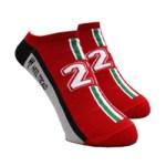Racing on – レーシングオン – No. 509 F1英雄たち 【付録】 フェラーリ 126C2 モチーフ ソックス ヒールトレッド