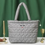 a-jolie QUILTING TOTE BAG BOOK GRAY ver. 【付録】 キルティングバッグ