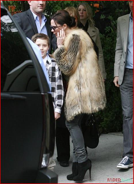 Victoria Beckham Fur Style  Furrier St Louis