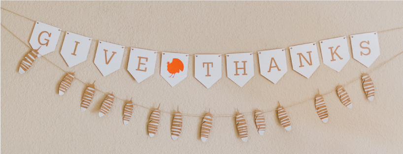 Silhouette Design Store Give Thanks Banner - Furrow and Feather