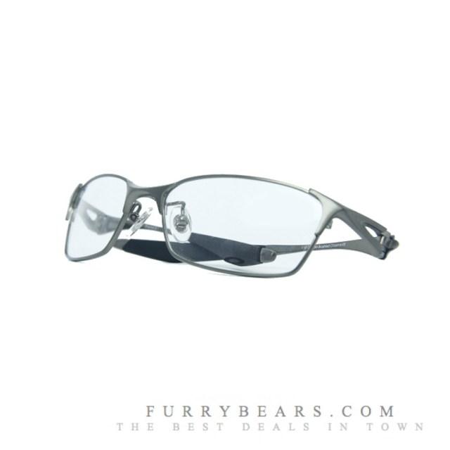 Oakley Bracket 8 1 Polished Chrome Prescription Glasses