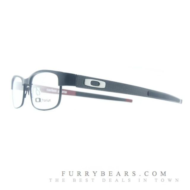 Oakley Carbon Plate Matte Black Prescription Glasses