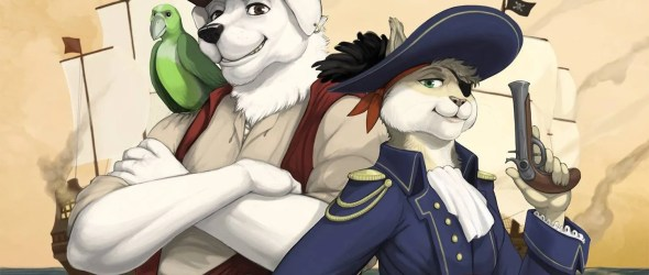 FurryDen a Zampacon '17: Tails of the Seven Seas