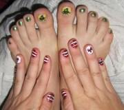 dr. seuss furry fury nail art