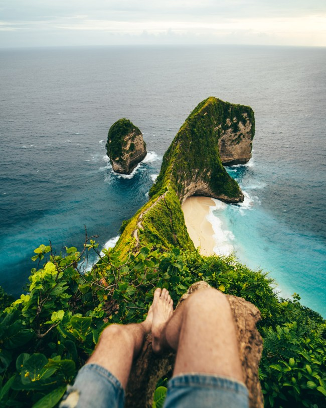 amazing things to do nusa penida keling king trex