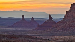 Sentinels at Dawn, Valley of the Gods