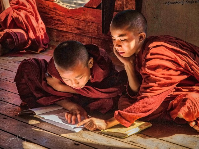 Lesson for Young Buddhist Monks