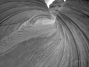 Wave Monochrome #9
