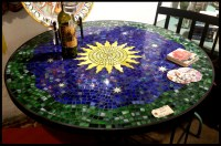gorgeous mosaics. how to make a tile mosaic tabletop