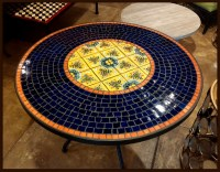 Glass Tables: Mosaic Glass Tables