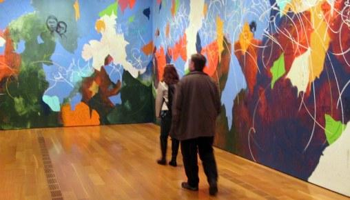 Color en el museo.