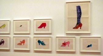 Zapatos de Andy Warhol que nunca antes había visto