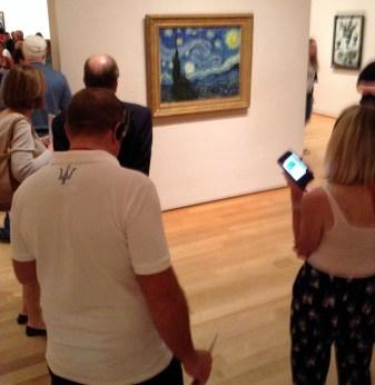 """Otra obra dedicada a mi hermana: De Vincent van Gogh """"The Starry Night"""" 1889"""