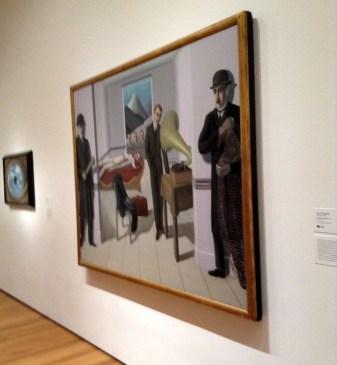 René Magritte The Menaced Assassin. Brussels, 1927