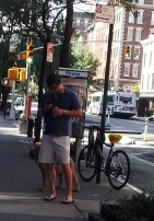 Perro y bicicleta en Chelsea