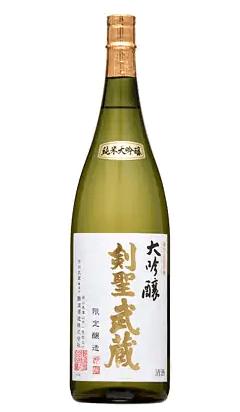剣聖武蔵 大吟醸 1.8L イメージ