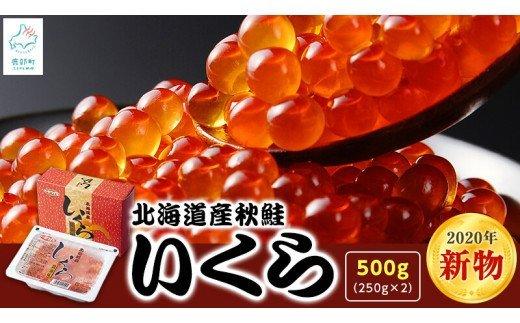 【2020年新物】北海道産いくら 500g(250g×2パック)小分けだから食べやすい! イメージ