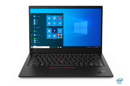 Lenovo ThinkPad X1 Carbon (14型 薄型・軽量モバイルノート WQHD液晶・LTE搭載プレミアムパッケージ)2020モデル※オフィスアプリ無 イメージ