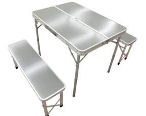 テーブル&ベンチセット メラミン天板