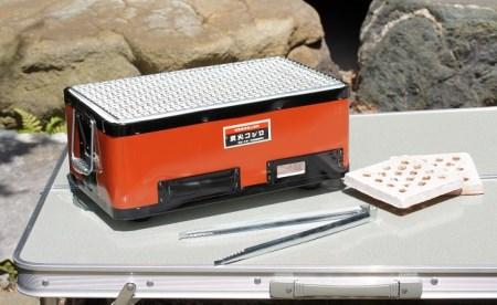 バーベキューコンロ鉄板(赤) イメージ