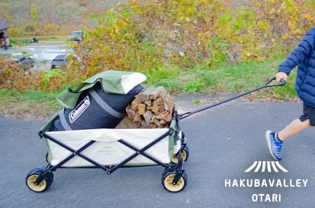 HAKUBA VALLEY OTARI オリジナルアウトドアワゴン イメージ