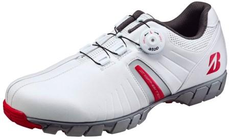 ブリヂストン ゴルフシューズ SHG750(ホワイトレッド) イメージ