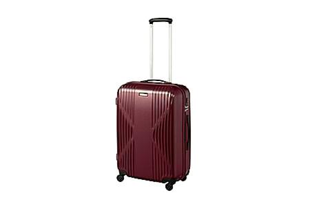 ワールドトラベラー クリアウォーター 日本製スーツケース 60L(ワイン)  イメージ