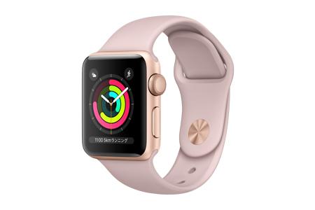 Apple Watch Series3 GPS ケースサイズ42ミリ ピンク ※受付終了 イメージ