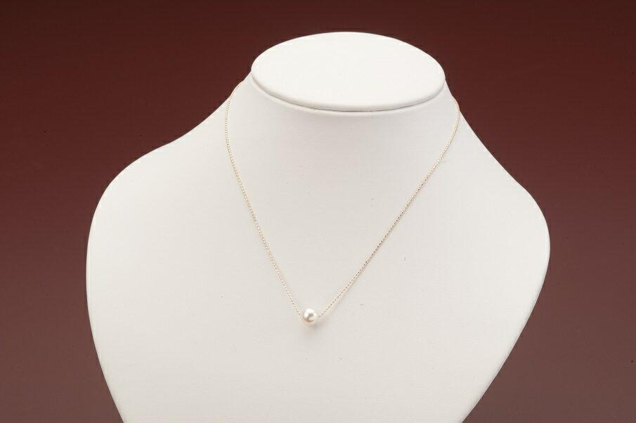 海の宝石 アコヤ真珠プチネックレス(PG)  イメージ