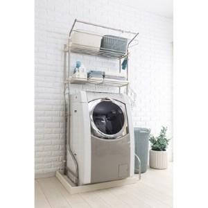 積水樹脂 ステンレス洗濯機ラック DSR-9 イメージ