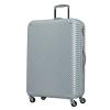 スーツケースABS7352(チルト)Lサイズ シルバーグレー