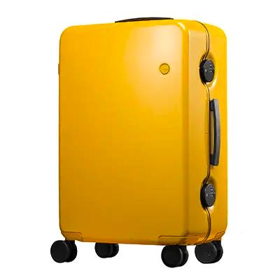 GINKGOスーツケース(マスタードプレーン) イメージ
