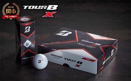 TOUR B X ホワイト 1ダース (ゴルフボール)  イメージ