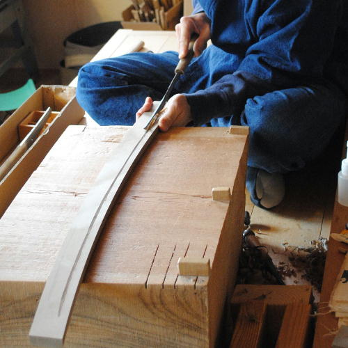 日本刀の拵製作  イメージ