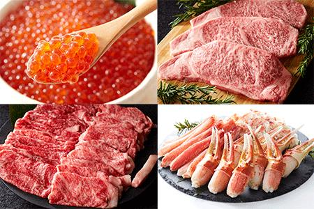 1年間毎月発送!お肉と魚介の定期便 イメージ