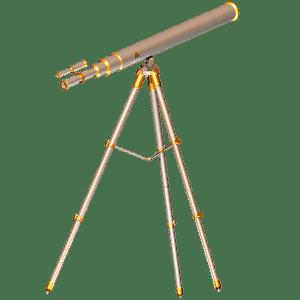 追尾しやすい赤道儀式 対物レンズ70mm天体望遠鏡EQM-70
