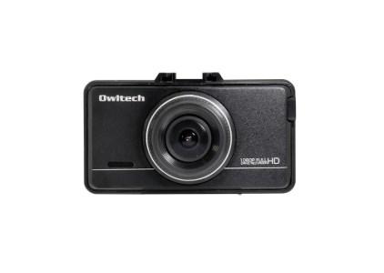 あおり運転対策に前後2カメタイプでしっかり撮影できるドライブレコーダー OWL-DR802G-2C イメージ