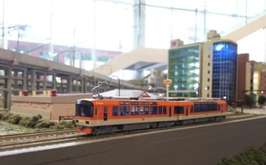 Nゲージ 京都を駆ける観光列車!叡山電鉄きらら展示セット イメージ