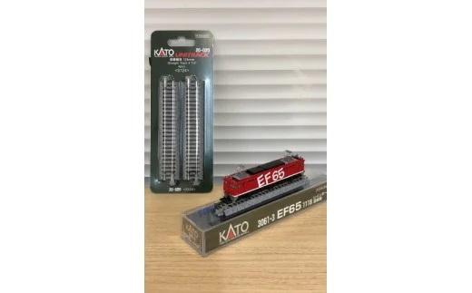 Nゲージ 異彩を放つ真っ赤な機関車!EF65形電気機関車レインボー塗装機 展示セット イメージ