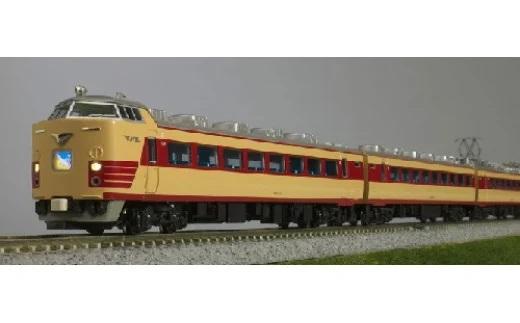 Nゲージ 日本中を駆け抜けた特急電車!485系展示セット イメージ